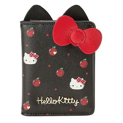 Sanrio Hello Kitty Leather Transportation ID Credit Card Case Holder Wallet