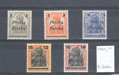 Poland, 1919 issue MNH, **, VF exp. A.Sader
