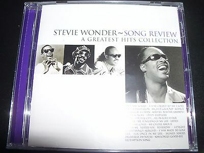 Stevie Wonder Song Review A Greatest Hits Best Of Collection (Aust) CD - New