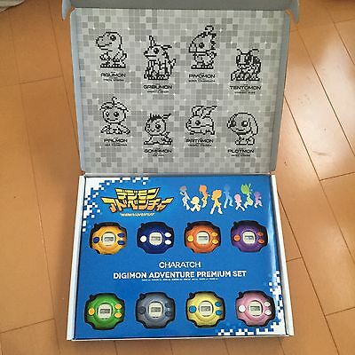 [Safety EMS F/S]Digimon Digivice watch 8color Set BANDAI Calatch Japan