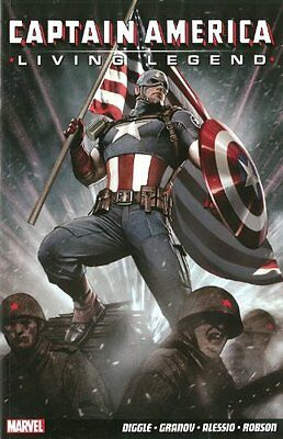Captain America by Andy Diggle Paperback Book New