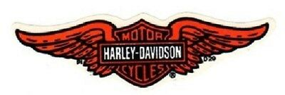 "4-3/4"" Harley Davidson Winged Eagle Bar Shield ~ Inside Window Decal Sticker!"