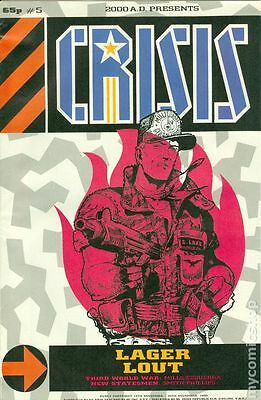 Crisis Comic - Digital Edition (From the Pages of 2000AD and Judge Dredd)