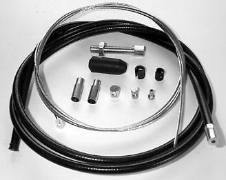 Universal Brake and Clutch Cable Kit, inner diameter 2.0 mm, will fit many bikes