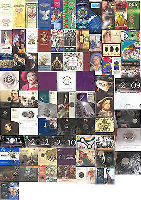 1990-2017 £2 Two Pounds & £5 Five Pounds coin packs from Royal Mint; FREE UK pp