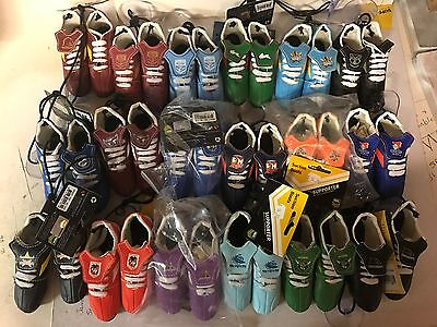 nrl, rugbyleague mini boots , all teams available icluding state of origin