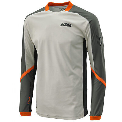 KTM PowerWear 2017 Defender Jersey Long Sleeve Motorbike Dirt Bike Motorcross
