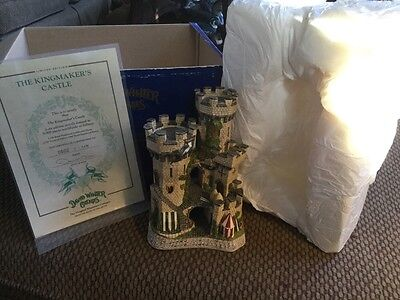 David Winter Kingmaker's Castle Limited Edition #0602/7150 Mint W/ Box And COA