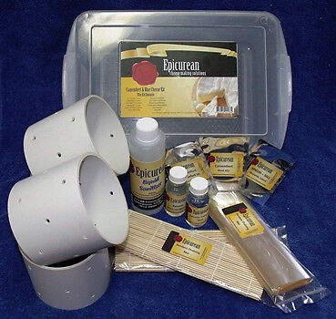 NEW Epicurean - Camembert & Blue Cheese Making Kit