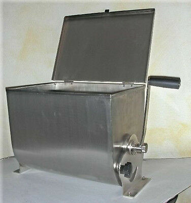 NEW Manual Meat Mixer FLB 32lt Stainless Steel