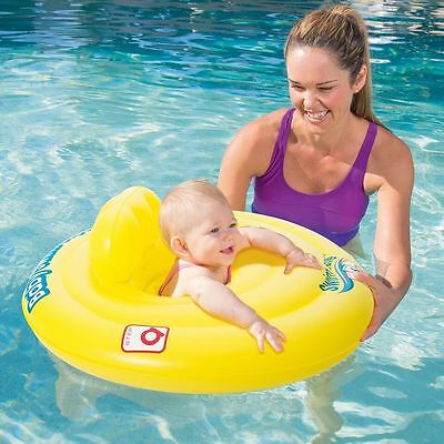 Bestway Swim Safe Support Step A Baby Seat Swimming Pool 0 to 1 Year BW32096