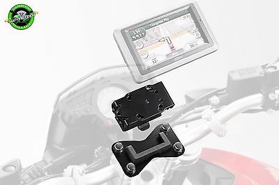 SW Motech GPS / Sat Nav Handlebar Mount Triumph Speed Triple 1050 2008 to 2010