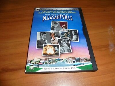 Pleasantville (DVD, Widescreen 1999) Tobey Maguire, Reese Witherspoon Used