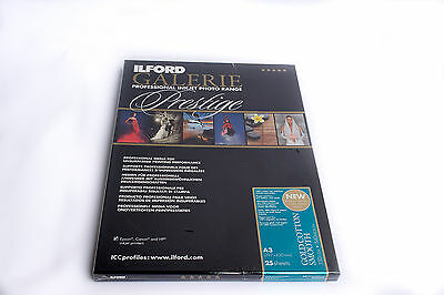 Ilford Galerie Prestige Gold Cotton Smooth, 330gsm, A3 25 sheets