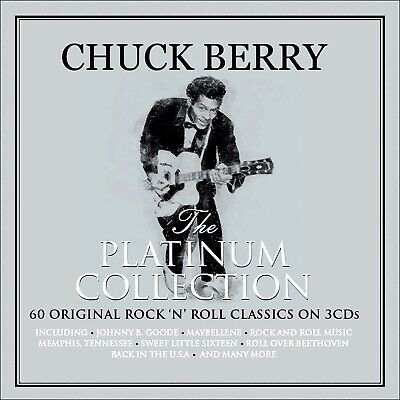 CHUCK BERRY * 60 Greatest Hits * NEW 3-CD BOX SET * All Original Songs *