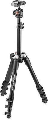 Manfrotto Befree One Aluminum Compact Lightweight Tripod Ball Head Black NEW
