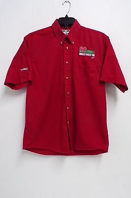 Wrc Rally Wales Gb Team Issue Short Sleeve Shirt Mens Large