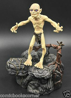 Lord of the Rings Trilogy ToyBiz GOLLUM 100% Complete w/ Electronic Base HOBBIT