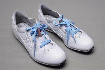 New Ladies Sz 8.5 M Adidas Driver ClimaCool golf shoes 671673 White