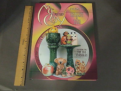 Mccoy Pottery Volume Ii  Collectors Reference Book Hard Cover