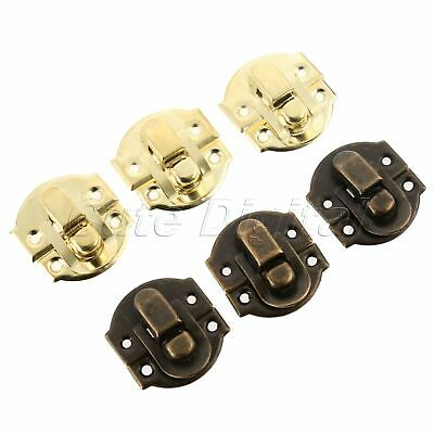Chests Trunk Latch Clasp Clip Hasp Lock Buckle Jewelry Box Case Toggle 10-50PCS