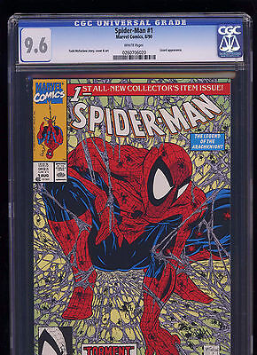 Spider-Man #1 - Marvel Comics 1990 - CGC 9.6 (McFarlane)