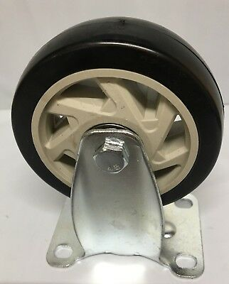 "4"" Castor Wheel 100mm FIXED Heavy Duty Caster"