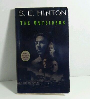 The Outsiders by S.E. Hinton Paperback Book - Bonus Material *Used