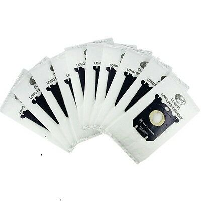 10x Vacuum Cleaner Bags Dust Bag for Philips Electrolux S-bag Vacuum filter Bags