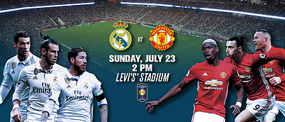 International Champions Cup Real Madrid vs Manchester United July 23rd,2017