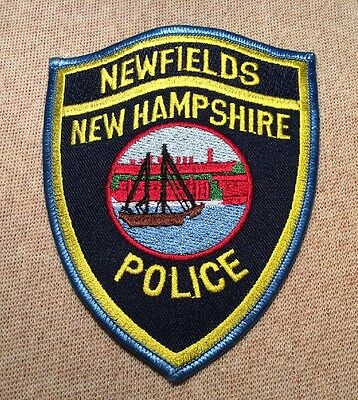 NH Newfields New Hampshire Police Patch
