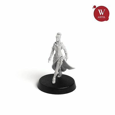 """28mm wargame and collectible miniature, Inquisitor Helena by """"W"""" Artel"""