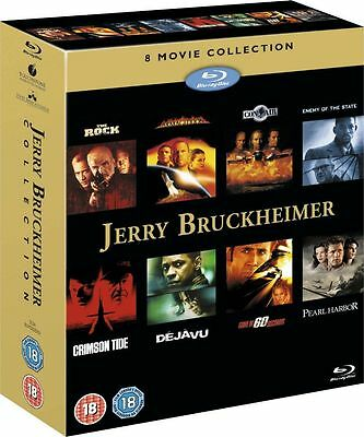 Jerry Bruckheimer Action Collection 8 MOVIE Blu-ray Box set NEW SEALED