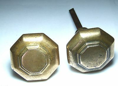 Splendid antique vintage bronze art deco door knob handles for 1920 door knobs