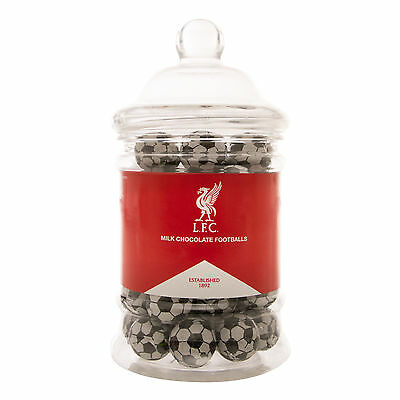 Liverpool FC  Balles de Football LFC de Chocolat en Bocal Officiel
