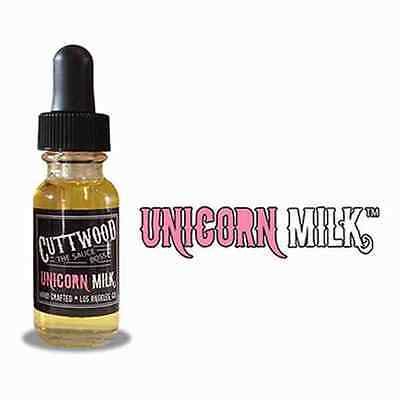 2 x 10ml  Cuttwood E-Liquid - Unicorn Milk - Vaping - 0/3/6/12mg 20ml Liquid