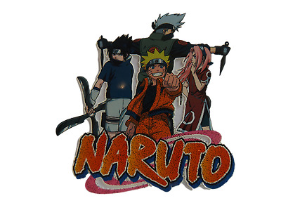 Naruto Japanese Anime Manga Iron On Smooth Heat Transfer Patch For Clothes Bags