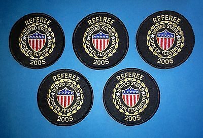 5 Lot 2005 USSF United States Soccer Federation Referee Football Jersey Patches