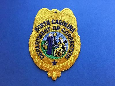 Rare North Carolina Department of Corrections Collectable Patch Crest