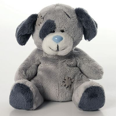 "4"" My Blue Nose Friends Patch the Dog No. 1 - Plush Soft Toy"