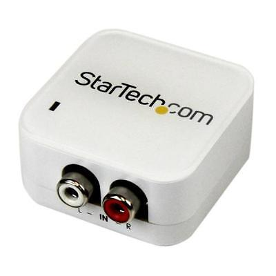 STARTECH Stereo RCA to SPDIF Digital Coaxial and Toslink Optical Audio Converter