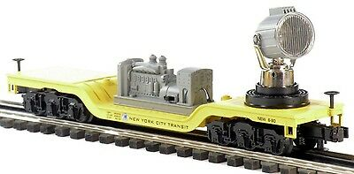 0/0-27:  Mth Rail King 30-2273A:  Mta Operating Searchlight Car