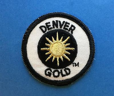 Rare Vintage Denver Gold USFL Football Jacket Hoodie Backpack Patch Crest