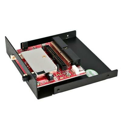 STARTECH 3.5in Drive Bay IDE to Single CF SSD Adapter Card Reader