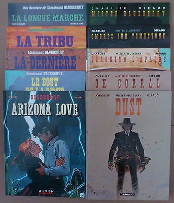 GIRAUD / CHARLIER  ***  BLUEBERRY TOMES 19 à 28  ***  EO TBE