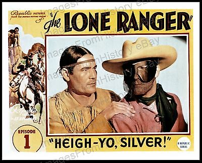 16x20 Poster Lee Powell Victor Daniels The Lone Ranger 1938 #3132P