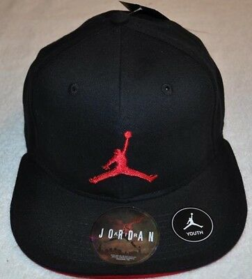 ... real air jordan nike blk gym red jumpman michael jordan snapback cap  youth hat dbbdd 842ca 1e93f1ea48e8