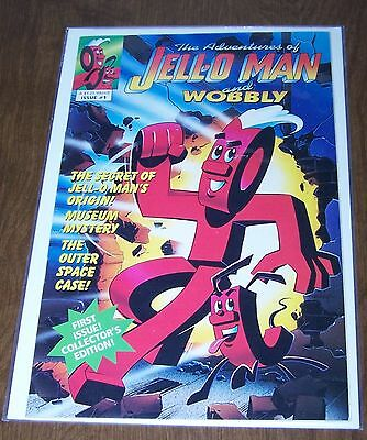Comic Book The Adventures of Jello Jell-O Man & Wobbly #1 Welsh Publications