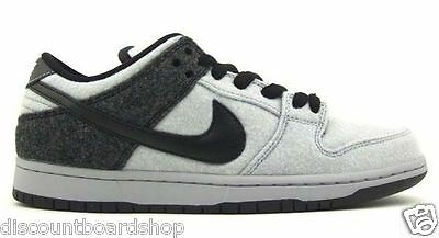 pretty nice 0f308 d811f Nike DUNK LOW PREMIUM SB Wolf Grey Black Skate Discounted (334) Men s Shoes