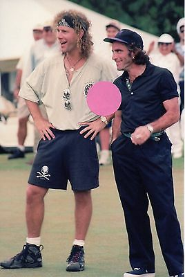 Bon Jovi David Bryan Tico Torres On The Golf Course 8 - 4X6 Color Photo Set #78A